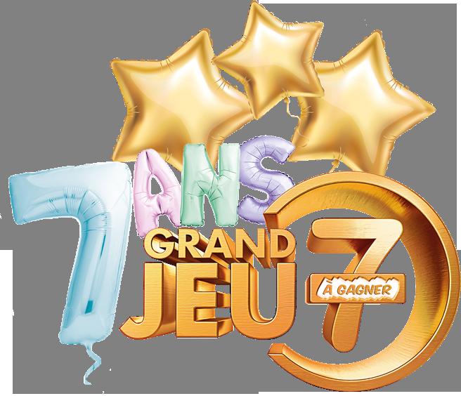 Logo 7 à gagner